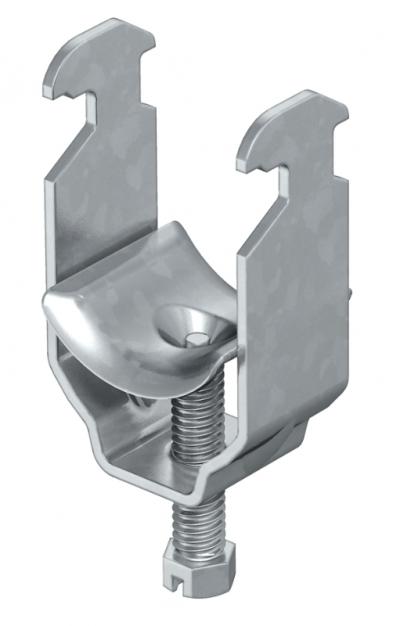 Зажимная скоба 1-секционная, с металлической прижимной пластиной — арт.: 1156004