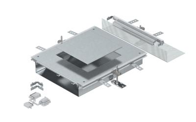 Монтажная секция с крышкой для лючка GES9, высота 40 — 70 мм — арт.: 7424884