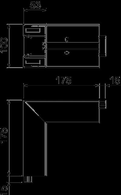 Схема Внешний угол — арт.: 6113040