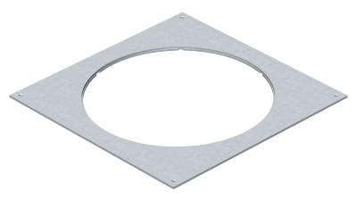 Крышка монтажного основания 350-3 с отверстием для лючка GESR9 — арт.: 7400549