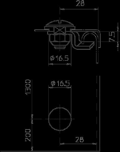 Схема Поворотный фиксатор — арт.: 6222366