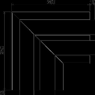 Схема Плоский угол — арт.: 6112633