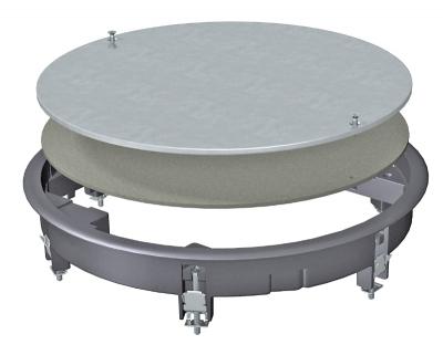 Ревизионный люк ZESRA7 из литого алюминия — арт.: 7406824