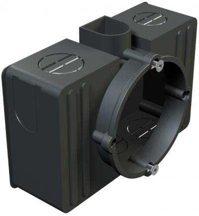 Прямоугольная монтажная коробка для скрытого монтажа — арт.: 2003023