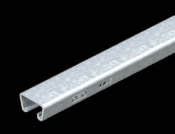 Профильная рейка с шириной шлица 18 мм, неперфорированная — арт.: 1120204