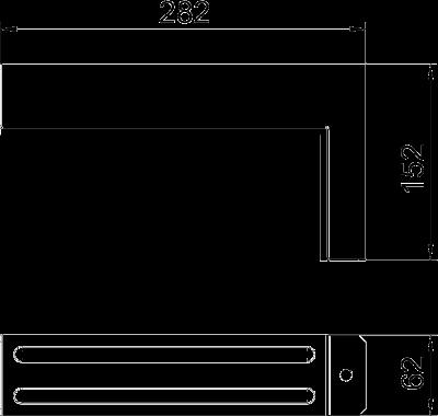 Схема Соединитель для углового монтажа — арт.: 7216412