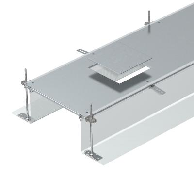 Секция кабельного канала с крышкой для лючка GES4, высота 40 — 240 мм — арт.: 7424140