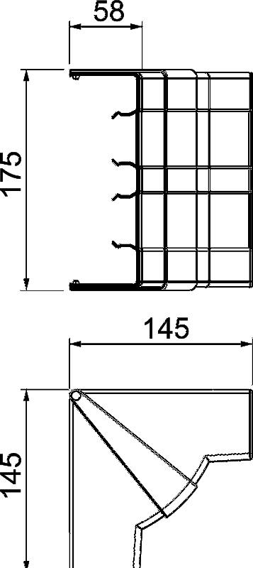 Схема Крышка внутреннего угла — арт.: 6113444
