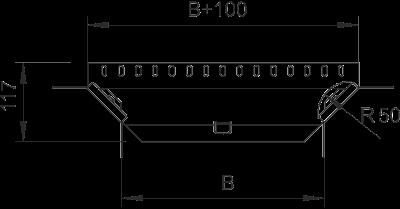 Схема Т-образное/крестовое соединение 100-300 мм — арт.: 7002637