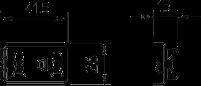 Схема Фиксатор для крепления разделительной полочки — арт.: 6062282