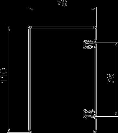 Схема Огнестойкий металлический кабельный канал, класс огнестойкости от I30 до I120 — арт.: 7216300