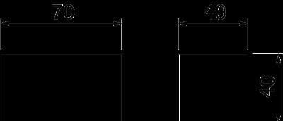 Схема Уплотнитель для кабельного ввода BSKM 0407 — арт.: 7216590