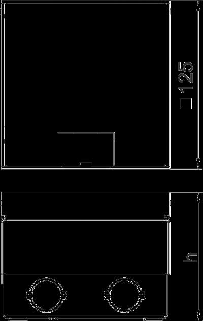 Схема Лючок UDHome2 с крышкой из нержавеющей стали, укомплектованный — арт.: 7368384