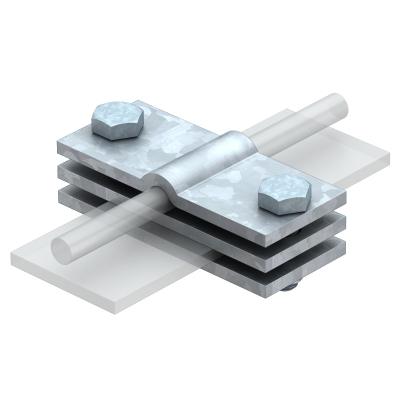 Заземляющая клемма для круглых и плоских проводников — арт.: 5043018