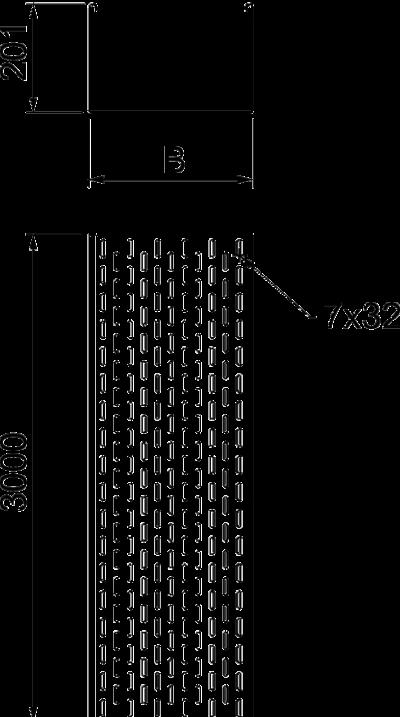 Схема Листовой кабельный лоток MFR для станций мобильной связи — арт.: 6083056