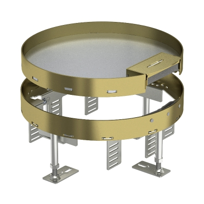 Регулируемая кассетная рамка RKSR с кабельным выводом, из латуни — арт.: 7409262