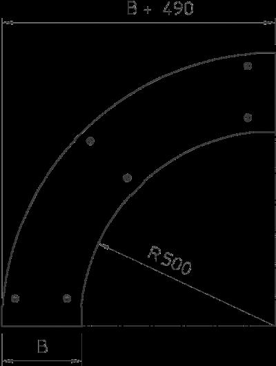 Схема Крышка угловой секции 90° — арт.: 6239153
