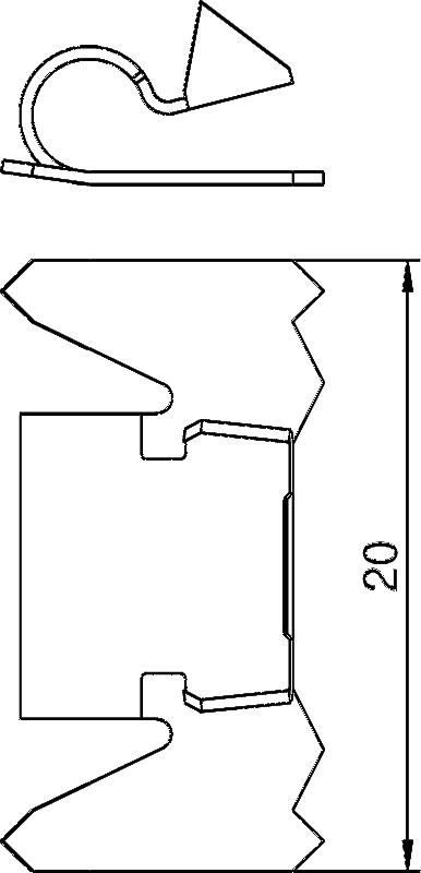 Схема Фиксатор крышки — арт.: 6288700