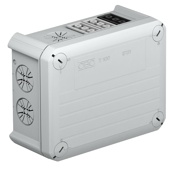 Распределительная коробка T-100 WB 2W3 4S3 с гнездовым разъемом Wieland — арт.: 2007820