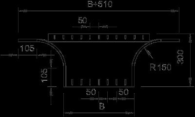 Схема Т-образное/крестовое соединение 400-600 мм — арт.: 7002521