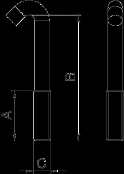 Схема Болт с Г-образной головкой — арт.: 1154970