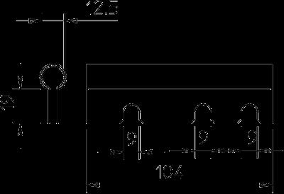 Схема Адаптер для стержней с резьбой, класс огнестойкости E30 — арт.: 7215395