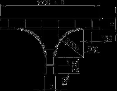 Схема Т-образная секция — арт.: 6312815
