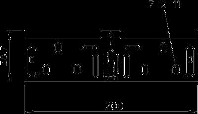 Схема Комплект продольных соединителей — арт.: 6068150