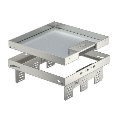 Регулируемая кассетная рамка RKSNUZD3 с кабельным выводом, из нержавеющей стали — арт.: 7409238