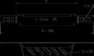 Схема Переходник/концевик — арт.: 7108052