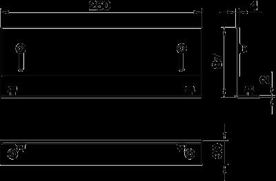 Схема Торцевая заглушка кабельного канала — арт.: 7403820