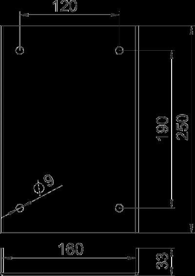 Схема Отбойник для промышленной электромонтажной колонны — арт.: 6290423