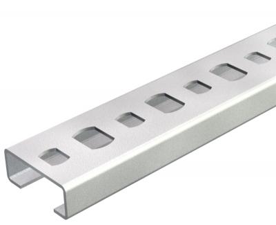 Профильная рейка с шириной шлица 11 мм, неперфорированная — арт.: 1105124