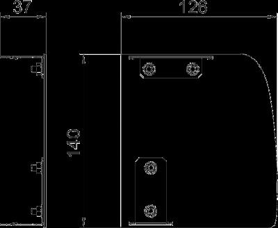 Схема Торцевая заглушка Soft правая — арт.: 6115945