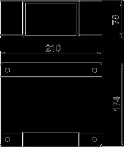 Схема Крышка Т-образной секции — арт.: 7216362