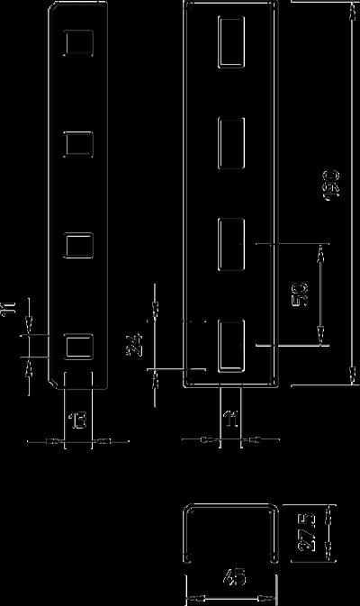 Схема Соединитель U-образной стойки — арт.: 6018513