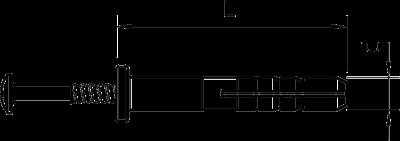 Схема Забивной дюбель — арт.: 2351056