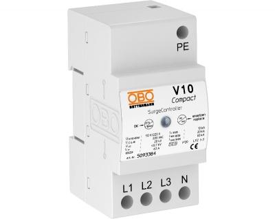 Разрядник для защиты от перенапряжений V10 Compact, 385 В — арт.: 5093384