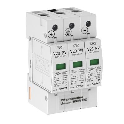 Разрядник для защиты от перенапряжений V20 для фотогальванических установок, 600 В постоянного тока — арт.: 5094605