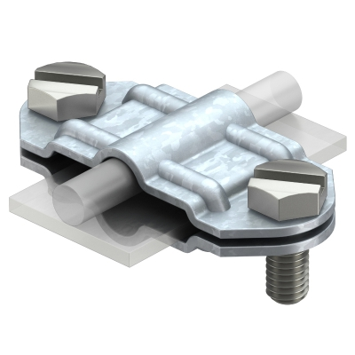 Разделительный зажим для круглых проводников Rd 8-10 и плоских проводников FL 30 — арт.: 5336309