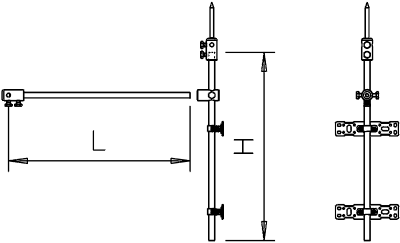 Схема Комплект для изолированного треугольного крепления — арт.: 5408976