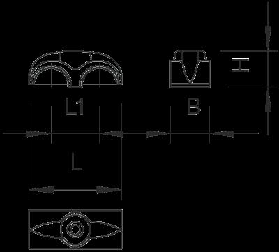 Схема Двойная скоба ISO — арт.: 2213117