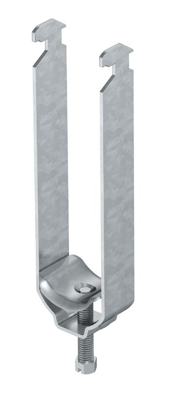 Зажимная скоба 3-секционная, с металлической прижимной пластиной — арт.: 1156241
