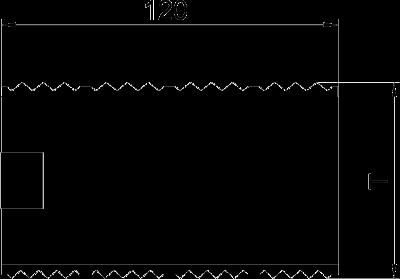 Схема Муфта для кабельного короба высотой 70 мм — арт.: 6279701
