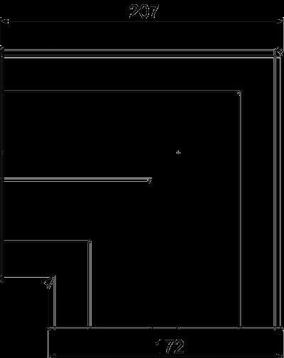 Схема Крышка плоского угла — арт.: 6113464