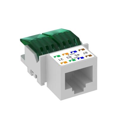 Телекоммуникационный модуль RJ45, CAT. 5e, неэкранированный — арт.: 6117337