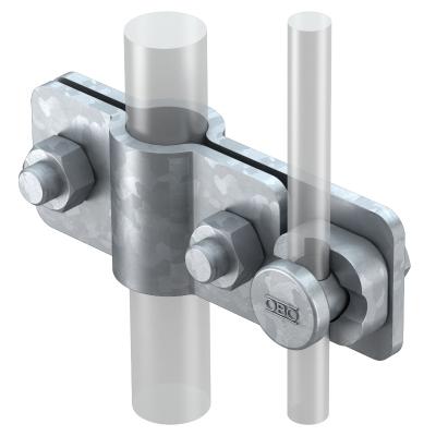 Соединитель для стержней заземления и круглых проводников Rd 8-10 — арт.: 5001218