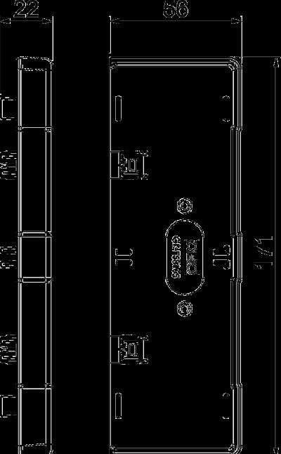 Схема Торцевая заглушка — арт.: 6113470