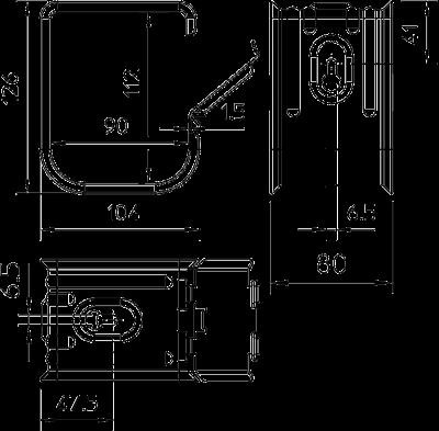 Схема Групповое крепление-захват М 70 — арт.: 2207060