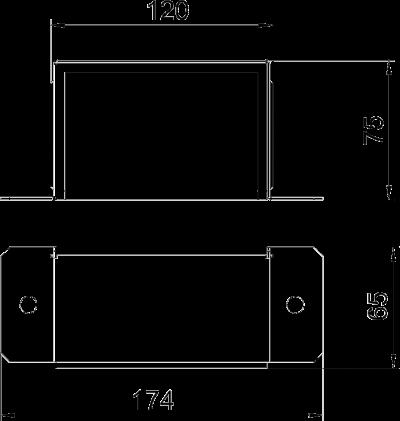 Схема Торцевая заглушка — арт.: 7216360